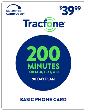 TracFone 200 Min 30-day Plan