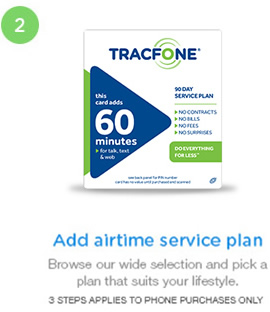 Add airtime service plan